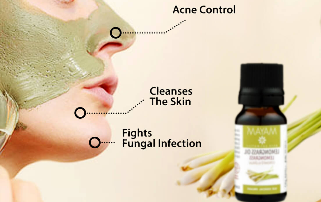 lemongrass for skin care
