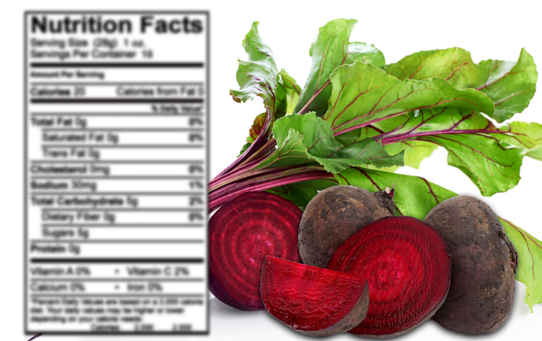 pickled beets nutrition information